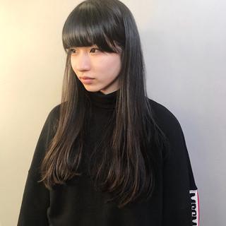 ストレート ワンレングス モード ワンカール ヘアスタイルや髪型の写真・画像 ヘアスタイルや髪型の写真・画像