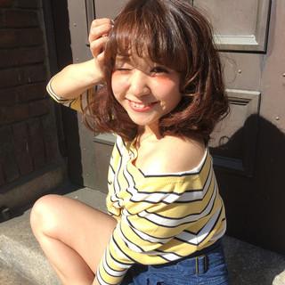 ゆるふわ 大人かわいい ストリート イルミナカラー ヘアスタイルや髪型の写真・画像