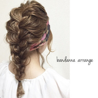 波ウェーブ ヘアアレンジ フェミニン ミディアム ヘアスタイルや髪型の写真・画像