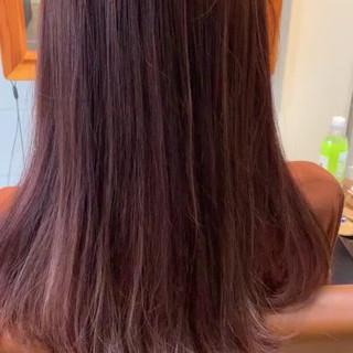 ハイライト 大人ロング エレガント ロング ヘアスタイルや髪型の写真・画像