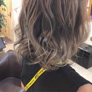 ボブ ガーリー ハイライト かわいい ヘアスタイルや髪型の写真・画像