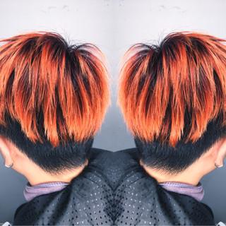 メンズ 坊主 ショート ストリート ヘアスタイルや髪型の写真・画像