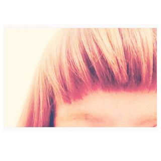 ミディアム ストリート オン眉 3Dカラー ヘアスタイルや髪型の写真・画像