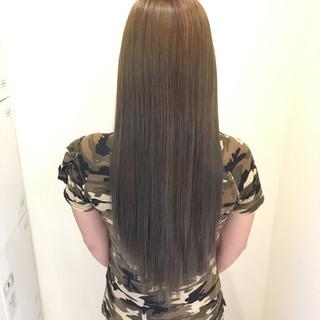 外国人風カラー グラデーションカラー 上品 ロング ヘアスタイルや髪型の写真・画像 ヘアスタイルや髪型の写真・画像