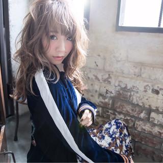 ストリート グラデーションカラー 小顔 アッシュ ヘアスタイルや髪型の写真・画像