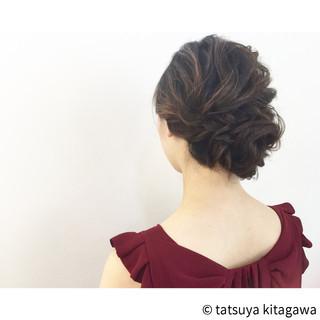 外国人風 大人かわいい セミロング ゆるふわ ヘアスタイルや髪型の写真・画像