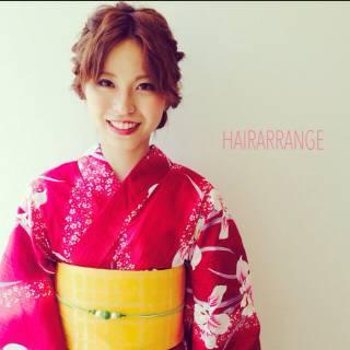 大人かわいい モテ髪 夏 ヘアアレンジ ヘアスタイルや髪型の写真・画像