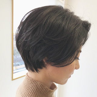 ショート 簡単ヘアアレンジ スポーツ 黒髪 ヘアスタイルや髪型の写真・画像