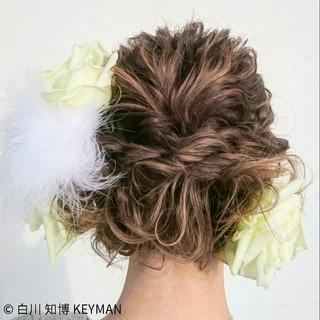 ミディアム 成人式 秋 冬 ヘアスタイルや髪型の写真・画像 ヘアスタイルや髪型の写真・画像