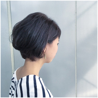 ショート ショートボブ ボブ アッシュグレージュ ヘアスタイルや髪型の写真・画像 ヘアスタイルや髪型の写真・画像