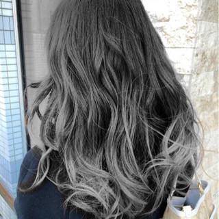 アッシュ アッシュグレージュ 外国人風カラー ナチュラル ヘアスタイルや髪型の写真・画像