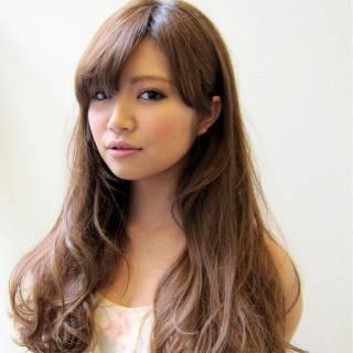 ロング 愛され アッシュ モテ髪 ヘアスタイルや髪型の写真・画像 ヘアスタイルや髪型の写真・画像