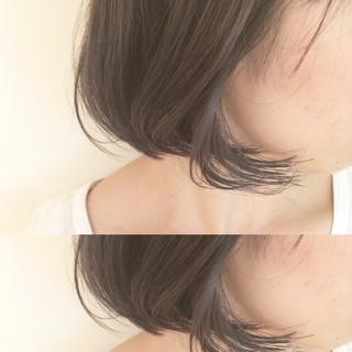 ボブ ハイライト ストリート 暗髪 ヘアスタイルや髪型の写真・画像