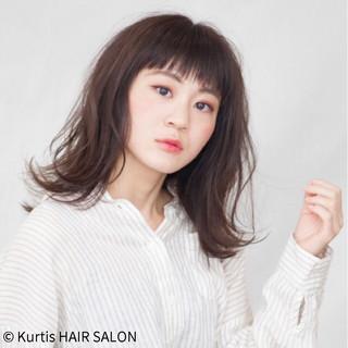 成人式 デート オフィス フェミニン ヘアスタイルや髪型の写真・画像