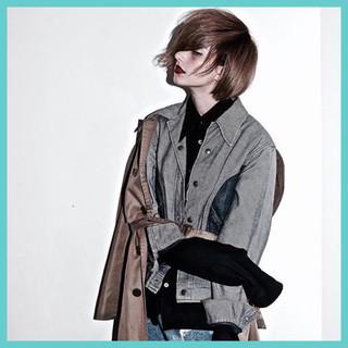 モード 外国人風 ボブ ヘアスタイルや髪型の写真・画像