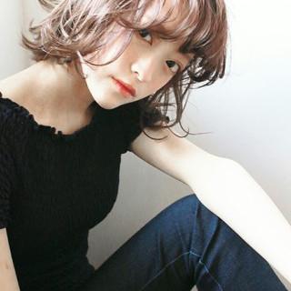 外国人風 ハイトーン アッシュ ストリート ヘアスタイルや髪型の写真・画像 ヘアスタイルや髪型の写真・画像