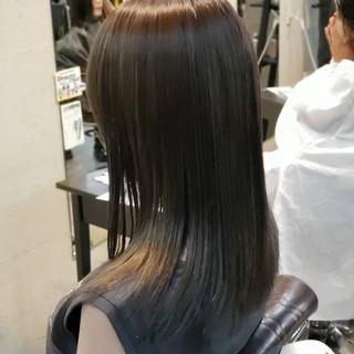 ハイライト エレガント 大人かわいい アッシュ ヘアスタイルや髪型の写真・画像