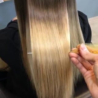 ロング モテ髪 透明感 外国人風カラー ヘアスタイルや髪型の写真・画像
