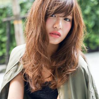 モテ髪 ナチュラル ストリート アッシュ ヘアスタイルや髪型の写真・画像