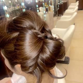 コンサバ モテ髪 愛され ヘアアレンジ ヘアスタイルや髪型の写真・画像