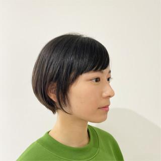 パーマ ナチュラル ゆるふわパーマ ボブ ヘアスタイルや髪型の写真・画像