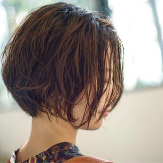 ナチュラル パーマ ゆるふわパーマ パーマ ヘアスタイルや髪型の写真・画像