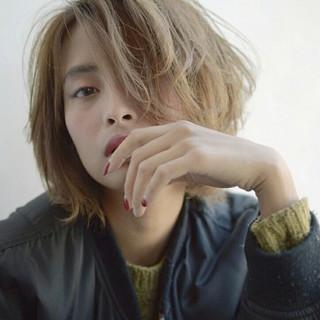 外国人風 大人かわいい ショート 前髪あり ヘアスタイルや髪型の写真・画像