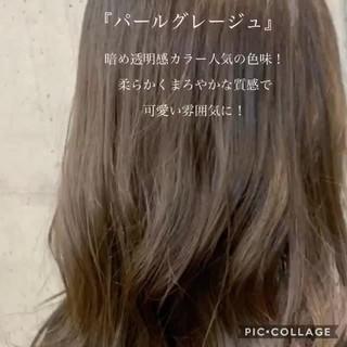 モテ髪 ナチュラル 愛され アンニュイほつれヘア ヘアスタイルや髪型の写真・画像