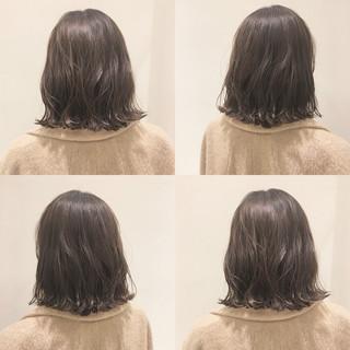 ナチュラル ボブ こなれ感 透明感 ヘアスタイルや髪型の写真・画像
