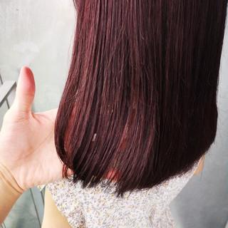 ガーリー ラベンダーピンク 大人女子 愛され ヘアスタイルや髪型の写真・画像