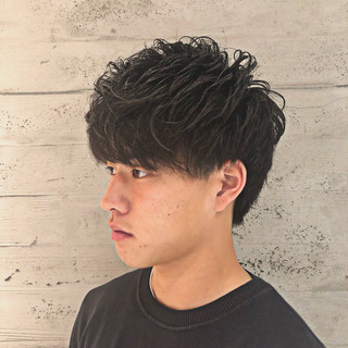 メンズ専門美容師 菊地陸さんのヘアスナップ