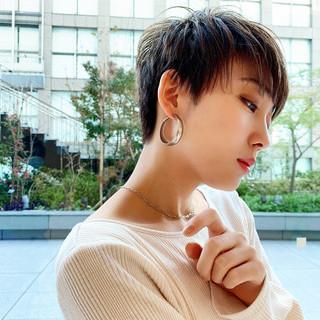 ショート PEEK-A-BOO ショートヘア 阿藤俊也 ヘアスタイルや髪型の写真・画像