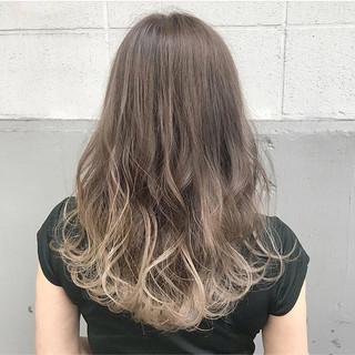 アンニュイ ハイライト 秋 透明感 ヘアスタイルや髪型の写真・画像