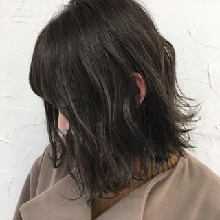 色気 外国人風 ボブ 大人かわいい ヘアスタイルや髪型の写真・画像