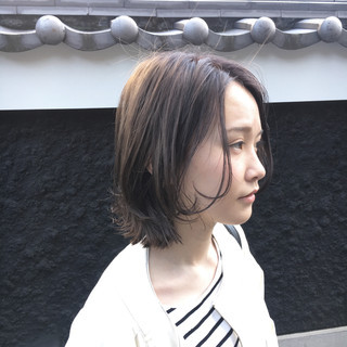 アウトドア 黒髪 パーマ 簡単ヘアアレンジ ヘアスタイルや髪型の写真・画像