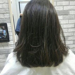ルーズ グレージュ 前髪あり 秋 ヘアスタイルや髪型の写真・画像