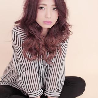 エレガント 上品 大人女子 ロング ヘアスタイルや髪型の写真・画像