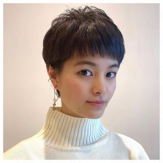 ショートヘア ショートパーマ ベリーショート ショート ヘアスタイルや髪型の写真・画像