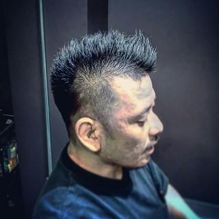 ボーイッシュ 刈り上げ ショート モード ヘアスタイルや髪型の写真・画像 ヘアスタイルや髪型の写真・画像