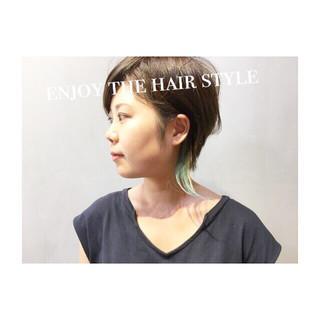 外国人風カラー ホワイトアッシュ ベージュ ダブルカラー ヘアスタイルや髪型の写真・画像