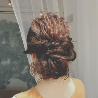 大人かわいい ロング ナチュラル ヘアアレンジ ヘアスタイルや髪型の写真・画像 ヘアスタイルや髪型の写真・画像