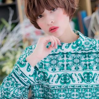 フェミニン ニュアンス 小顔 大人かわいい ヘアスタイルや髪型の写真・画像