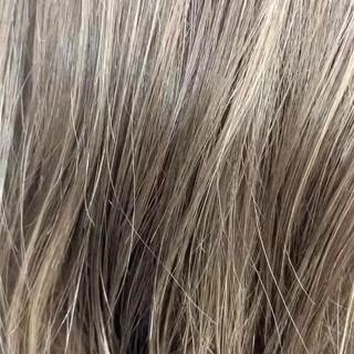 大人ハイライト ナチュラル 外国人風 ロング ヘアスタイルや髪型の写真・画像