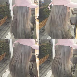 冬 ヘアアレンジ 外国人風 ロング ヘアスタイルや髪型の写真・画像