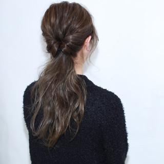 ヘアアレンジ ゆるふわ ロング フェミニン ヘアスタイルや髪型の写真・画像