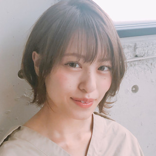 小顔ショート デート 大人かわいい ショート ヘアスタイルや髪型の写真・画像