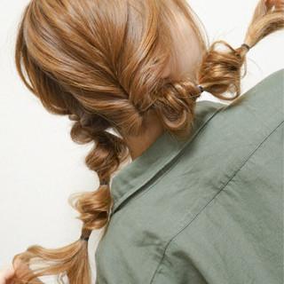ロング セミロング 夏 簡単ヘアアレンジ ヘアスタイルや髪型の写真・画像 ヘアスタイルや髪型の写真・画像