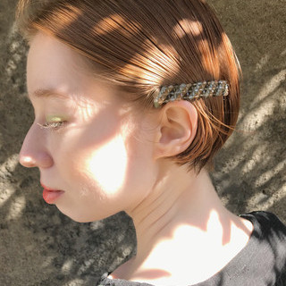 ミニボブ 切りっぱなしボブ ショートボブ ガーリー ヘアスタイルや髪型の写真・画像