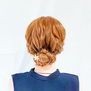 ロング ヘアアレンジ 結婚式 簡単ヘアアレンジ ヘアスタイルや髪型の写真・画像 ヘアスタイルや髪型の写真・画像