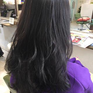 冬 セミロング ストリート 秋 ヘアスタイルや髪型の写真・画像